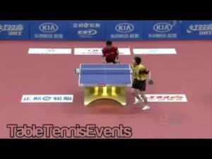 Jun Mizutani Vs Chen Weixing: Match 1 [Asie vs Europe 2013]