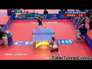 Yan An Vs Tang Peng: 1/4 Finale [Coupe d'Asie]