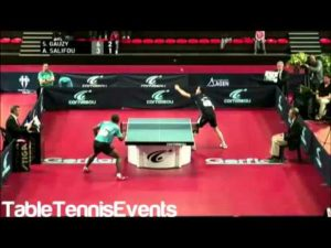 Simon Gauzy Vs Abdel-Kader Salifou: Finale [Coupe de France 2013]