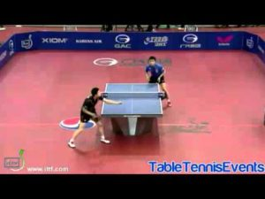 Ma Long Vs Wang Hao: 1/2 Finale [Open de Corée 2013]