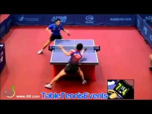Xu Xin Vs Lee Sangsu: Tour 2 [Open de Corée 2013]