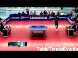 Ryu Seung Min Vs Bojan Tokic: 1/2 Final Play off [Ligue allemagne 2012/2013]