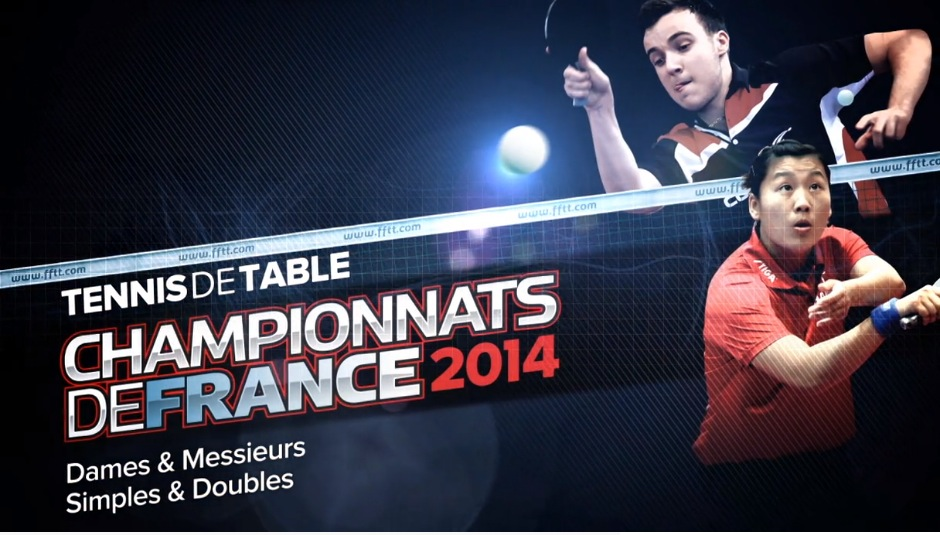 Bande annonce des championnats de france 2014 digiping - Championnat de france de tennis de table ...