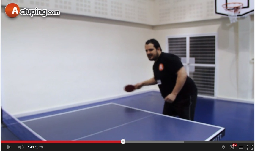 Test de la balle plastique xushaofa en r gularit 4 6 - Balle plastique tennis de table ...