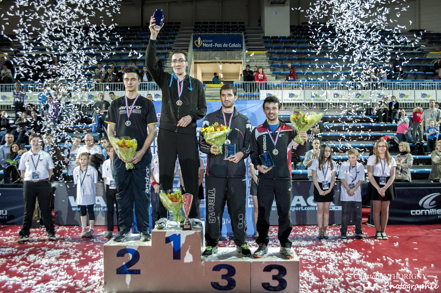 Palmar s et podiums des championnats de france 2015 orchies photos digiping tennis de table - Tennis de table championnat du monde ...