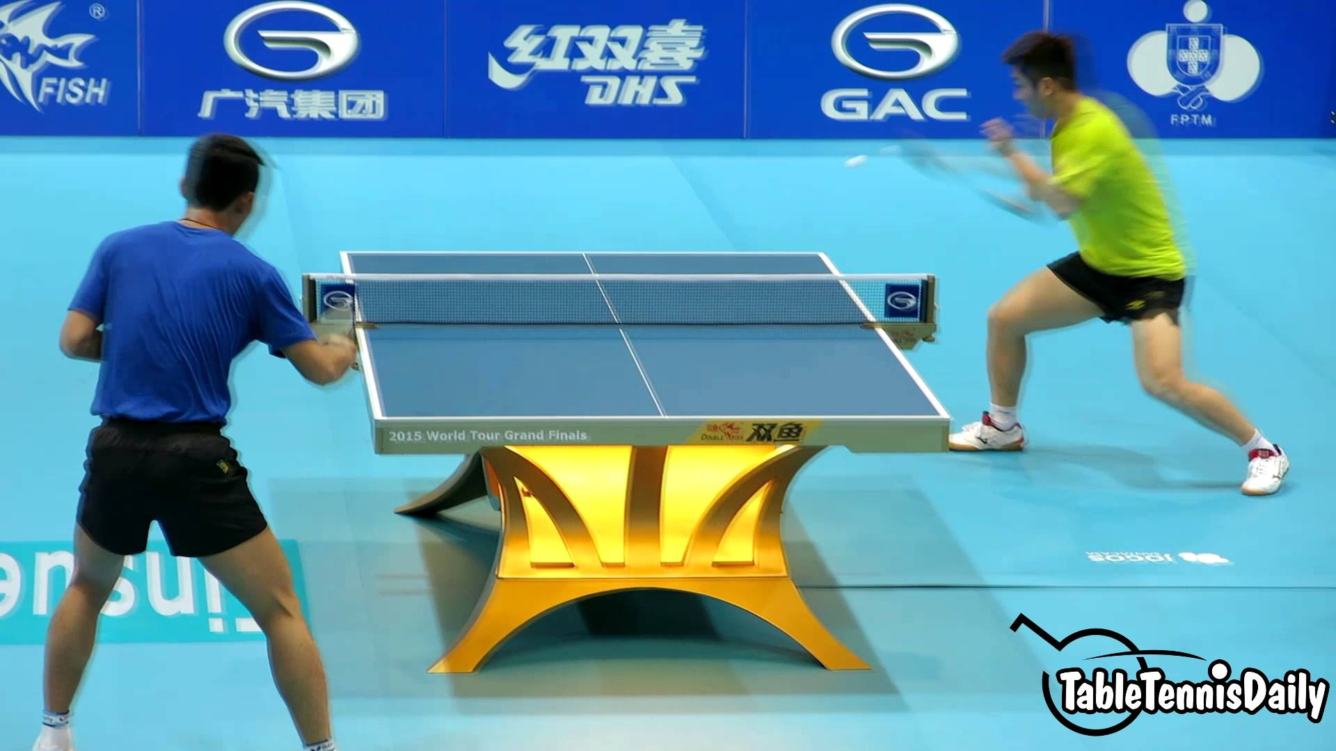 Best Points Of Ma Long 2017 Digiping Tennis De Table