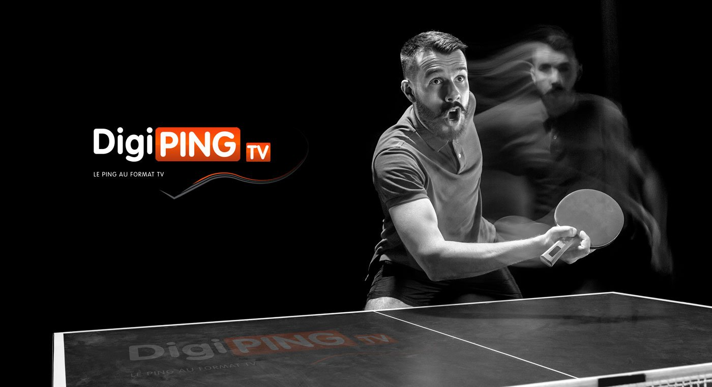 Digiping TV Tennis de Table