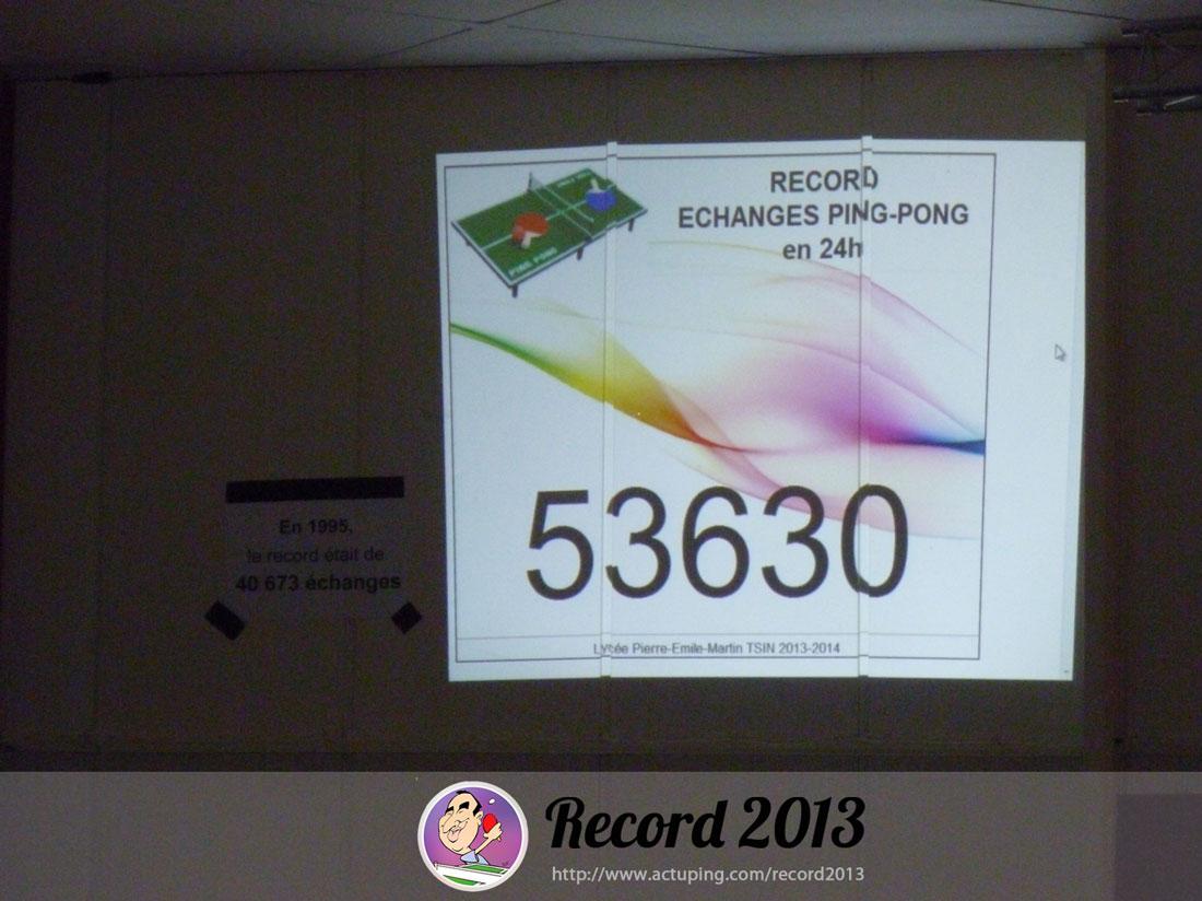 Le Record 2013 avec Emmanuel Cretier
