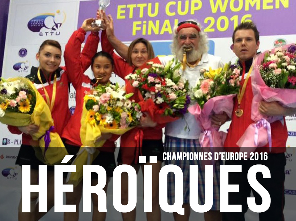 Les Lyssoises championnes d'Europe