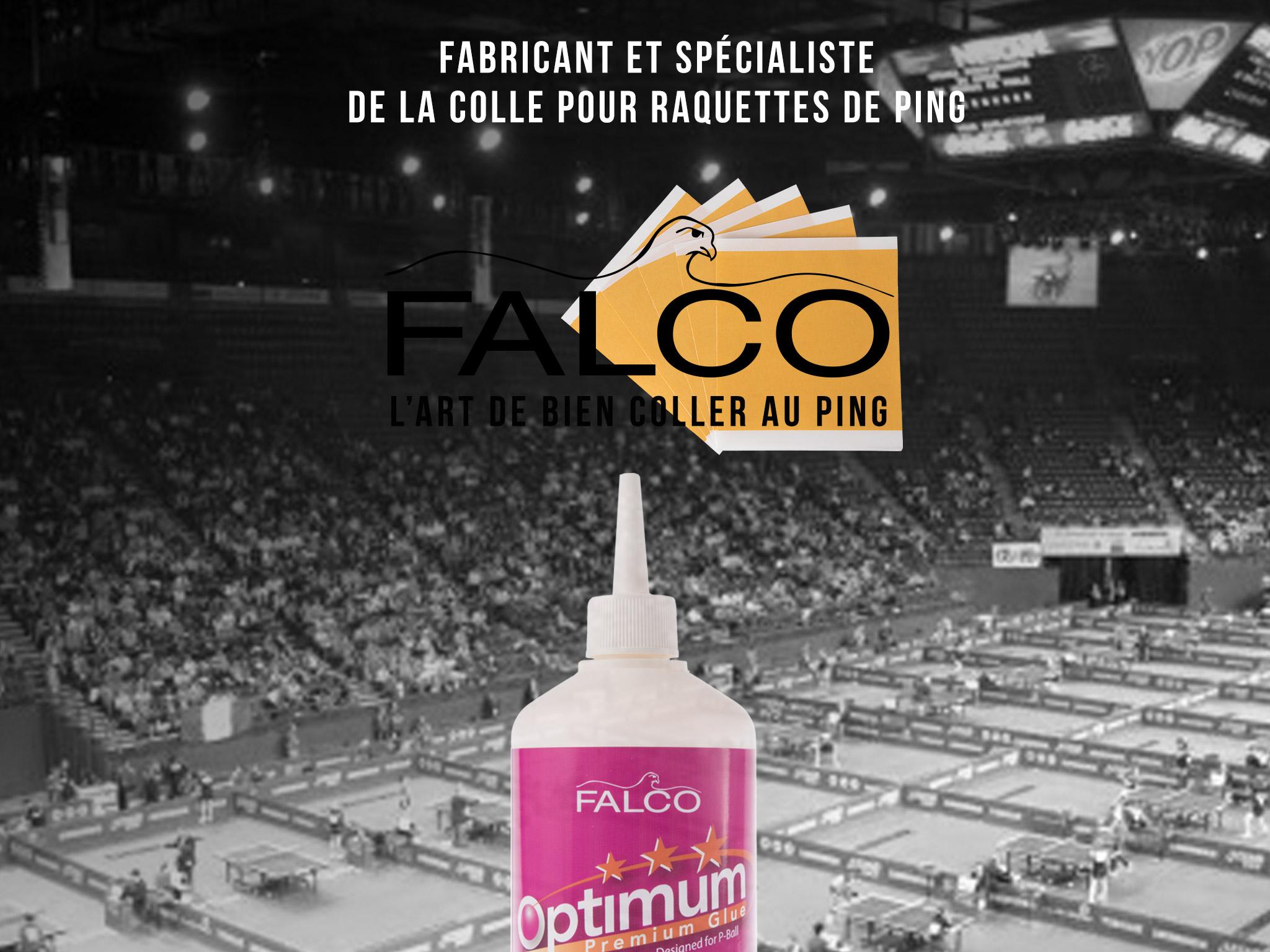 FALCO - Le spécialiste de la colle de Tennis de Table