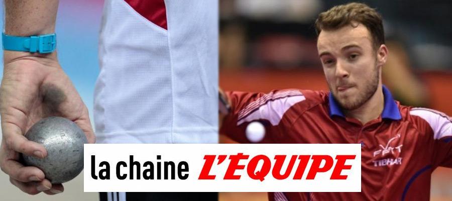 """L'Equipe lance le """"Trophée L'Equipe"""" de pétanque.... et bientôt de PING ?"""