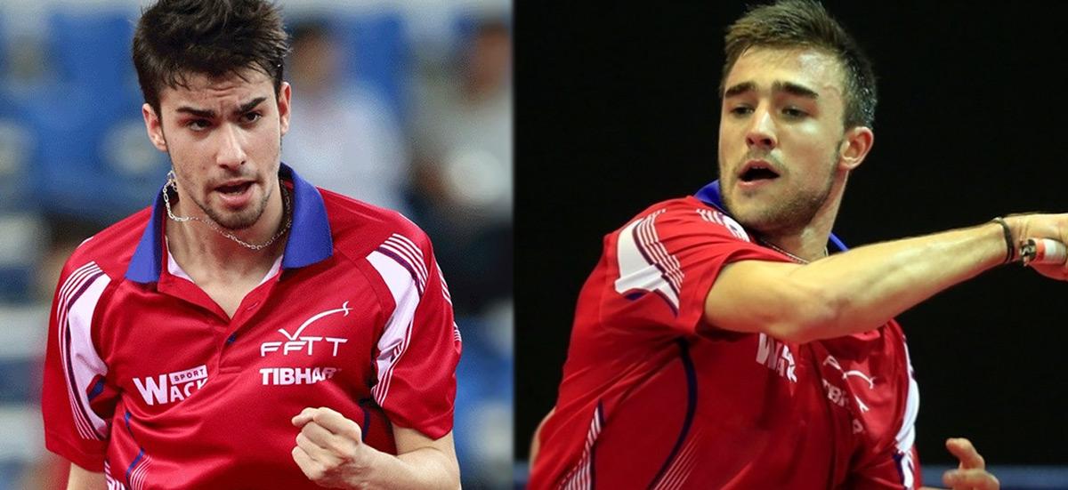 Tristan FLORE et Quentin ROBINOT | ITTF