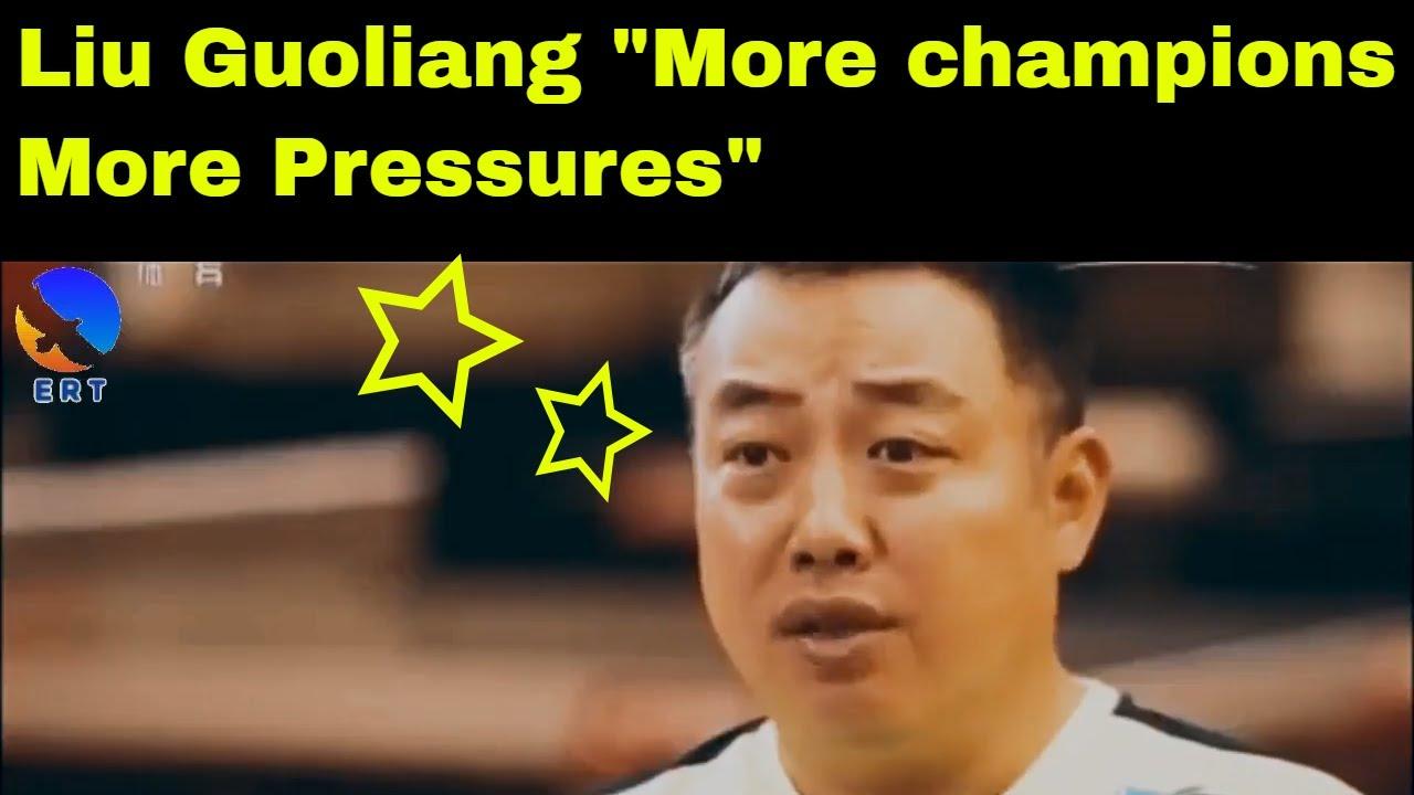 Reportage de tennis de table: Liu Guoliang sous la..