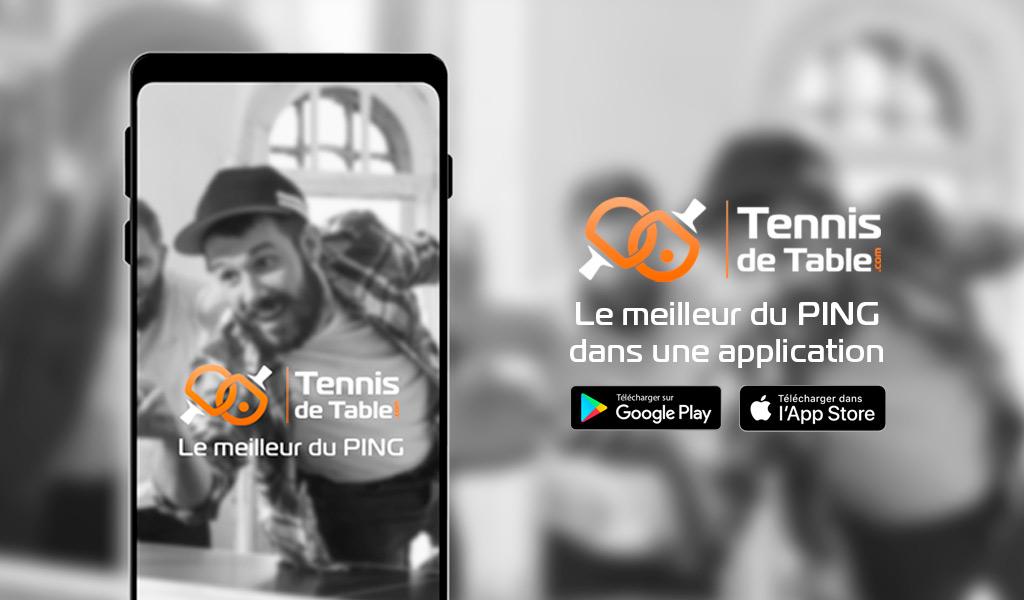Télécharger GRATUITEMENT l'application Tennis-de-Table.com | iPhone, iPad, Android